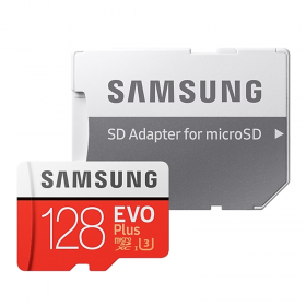 SAMSUNG MICRO SD W/ADPT 128GB EVO PLUS