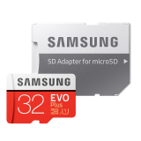 SAMSUNG MICRO SD W/ADPT 32GB EVO PLUS