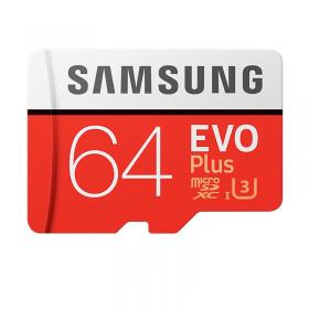 SAMSUNG MICRO SD W/ADPT 64GB EVO PLUS