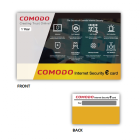 COMODO INTERNET SECURITY PRO-1USER (SCRATCH CARD)