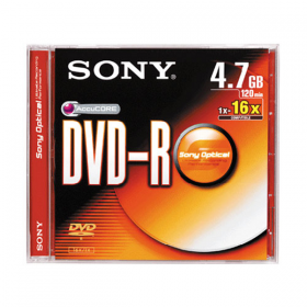 SONY MEDIA DVD-R (SINGLE)