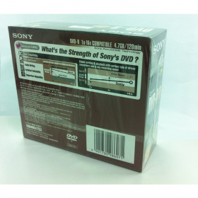 SONY MEDIA DVD-RW IN SPINDLE - 10PCS