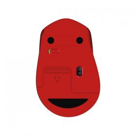 LOGITECH M331 SILENT MOUSE W/L - RED
