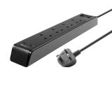 TARGUS SMART SURGE 4 WITH 2 USB PORTS