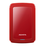 ADATA EXT HDD HV300 1TB RED (SLIMMER)