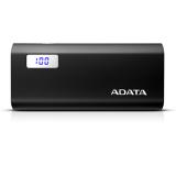 ADATA POWERBANK P12500D 12500MAH - BLACK