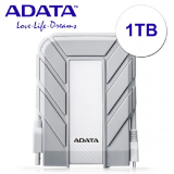 ADATA EXT HDD HD710A 1TB WHITE (DURABLE-MAC)