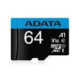 ADATA MICRO SD A1 CL10 - 64GB W/ADPT