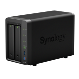BUNDLE - SYNOLOGY DS718+ & 2 UNITS SEAGATE HDD IRONWOLF (NAS) 2TB