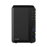 BUNDLE - SYNOLOGY DS218+ & 2 UNITS SEAGATE HDD IRONWOLF (NAS) 4TB