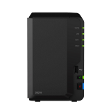 BUNDLE - SYNOLOGY DS218 & 2 UNITS SEAGATE HDD IRONWOLF (NAS) 4TB