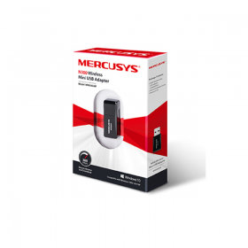 MERCUSYS USB ADAPTER WIRELESS N 300MBPS, MINI SIZE