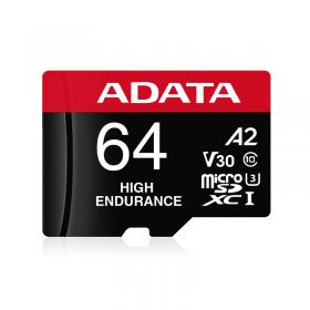 ADATA MICRO SD PREMIER PRO V30S CL10 - 64GB