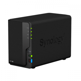 BUNDLE - SYNOLOGY DS218+ & 2 UNITS SEAGATE HDD IRONWOLF (NAS) 3TB