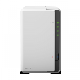 BUNDLE - SYNOLOGY DS218J & 2 UNITS SEAGATE HDD IRONWOLF (NAS) 3TB