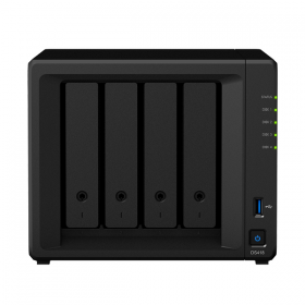 BUNDLE - SYNOLOGY DS418 & 2 UNITS SEAGATE HDD IRONWOLF (NAS) 3TB