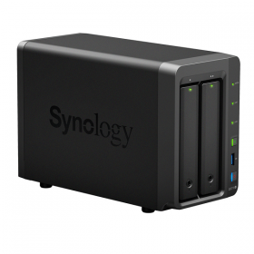 BUNDLE - SYNOLOGY DS718+ & 2 UNITS SEAGATE HDD IRONWOLF (NAS) 3TB