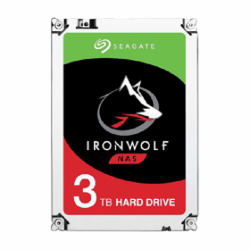 BUNDLE - SYNOLOGY DS1819+ & 2 UNITS SEAGATE HDD IRONWOLF (NAS) 3TB