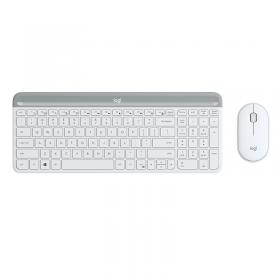 LOGITECH MK470 SLIM - WHITE