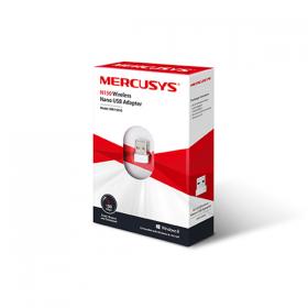 MERCUSYS USB ADAPTER WIRELESS N 150MBPS, NANO SIZE