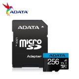 ADATA MICRO SD A1 CL10 - 256GB W/ADPT