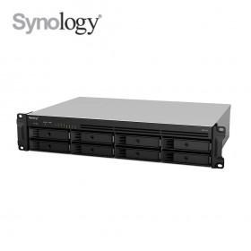 SYNOLOGY RS1219+ (2U) / QC 2.4 GHz / 2 GB DDR3 / 8 BAY / 4 LAN Port / 2 USB 3 / 1 Esata