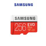 SAMSUNG MICRO SD W/ADPT 256GB EVO PLUS