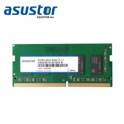 ASUSTOR RAM AS-4GD4 (AS5202T/AS5304T/AS6602T/AS6604T)