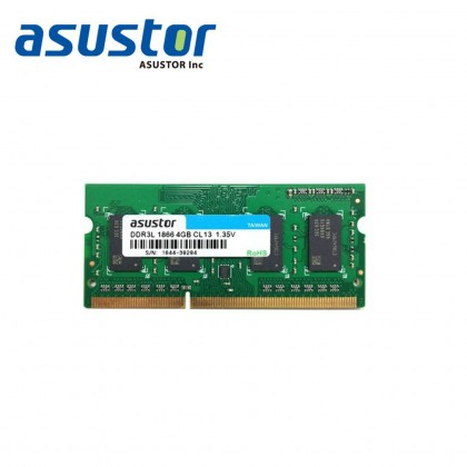 ASUSTOR RAM AS6-RAM4G (AS6302T/AS6404T/AS6208T/AS6210T/AS6204RD/AS6204RS/AS6212RD)