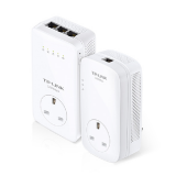 TPLINK POWERLINE EXTENDER AV1200 GIGABIT PASSTHROUGH AC WI-FI KIT