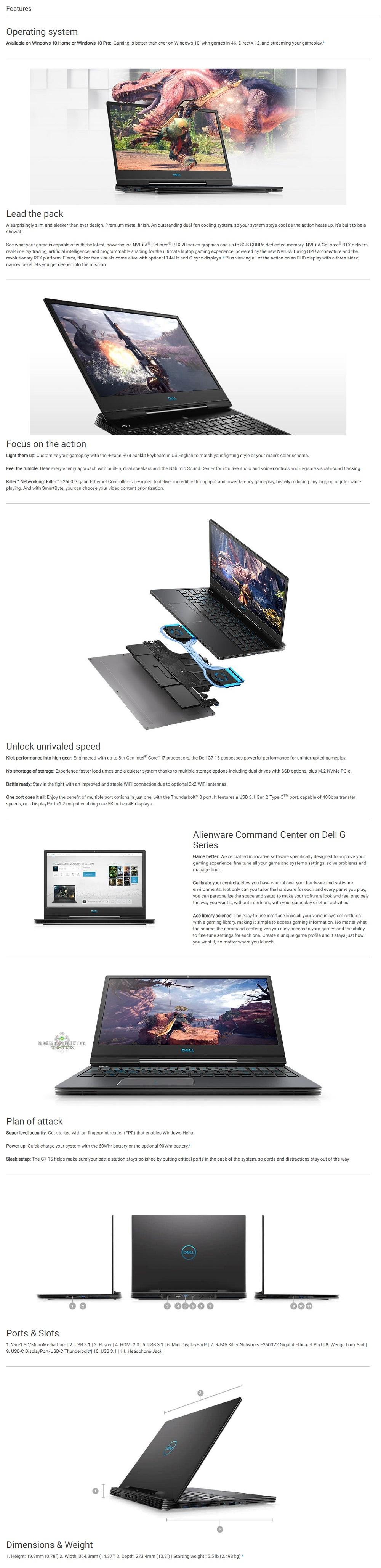 DELL CON G7-87116GFHD-W10-2060-SSD GREY
